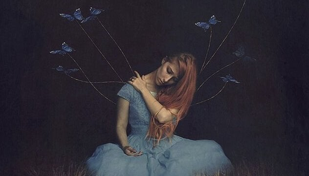 Motyle na sznurkach