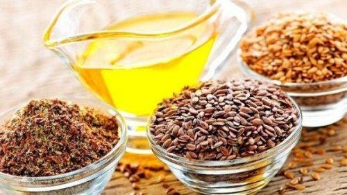 Nasiona i oleje z omega-3