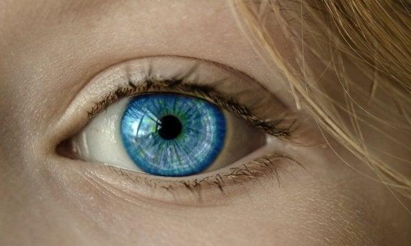 Niebieskie oko.