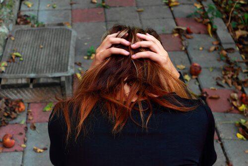 Kobieta - stan niepokoju