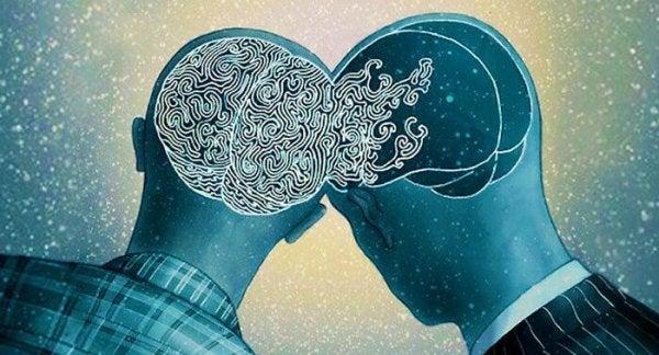 Połączone mózgi.