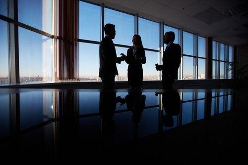 Spotkanie w biurze.