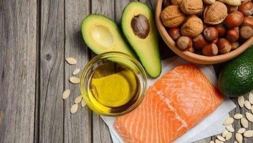 Produkty zawierające omega-3