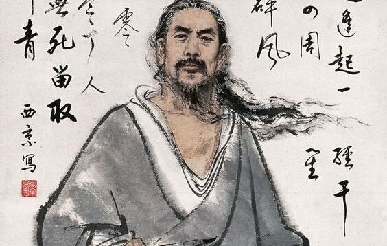 Rysunek Japończyka