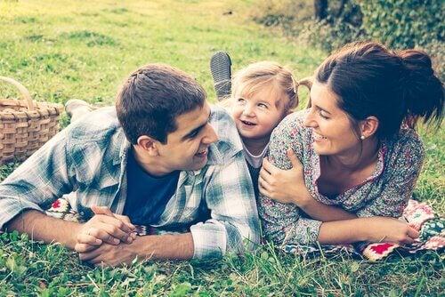 Szczęśliwa rodzina.