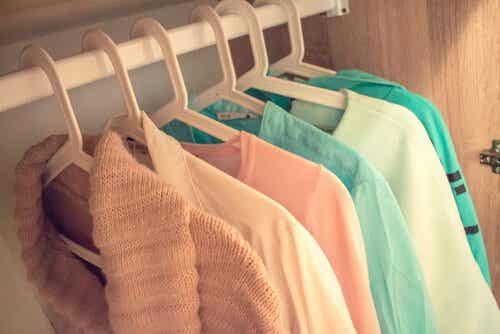 Sprzątając swoją szafę porządkujesz również swój umysł