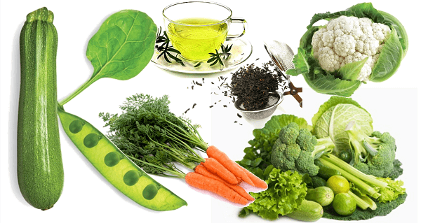 Warzywa i witaminy.