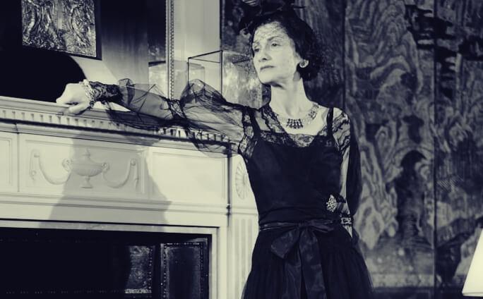 Coco Chanel w swoim domu