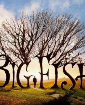 Duża ryba - plakat filmu