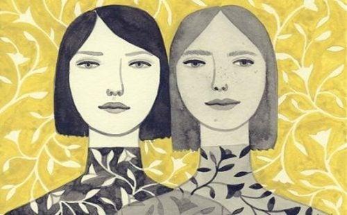 Dwie siostry - porównywanie
