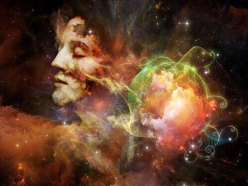 Człowiek we wszechświecie.