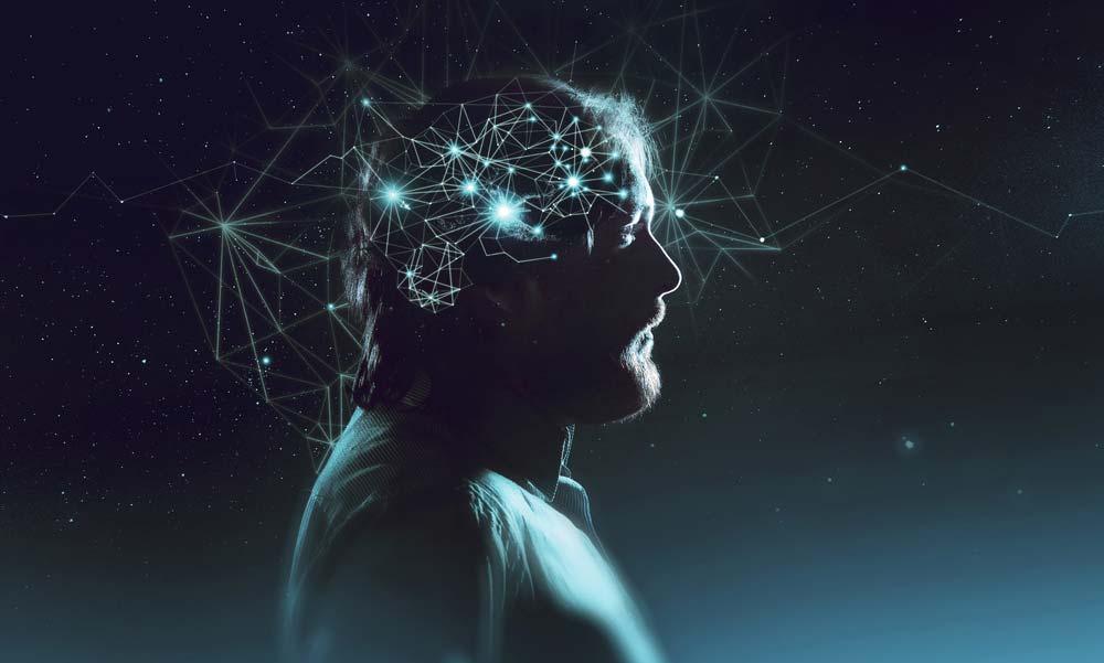 Mężczyzna - mózg