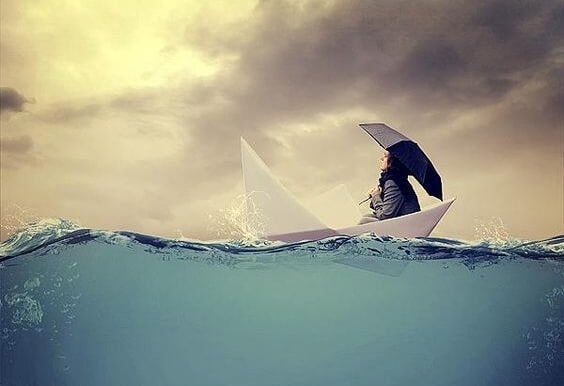 Morze - łódka