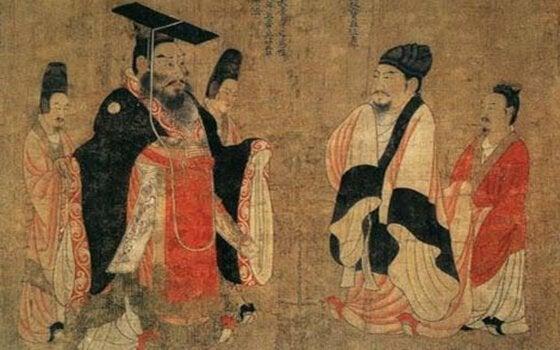 obrazek ze starodawnych Chin