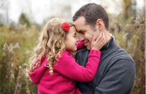 Kompleks Elektry - dziewczynka z ojcem.