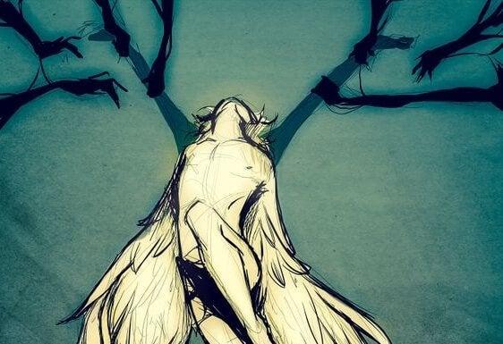 Opadłe skrzydła