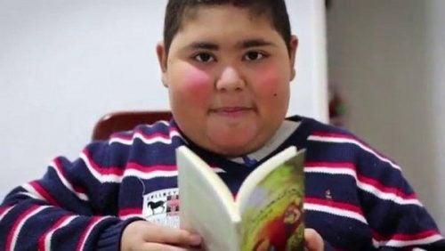 Czytanie to lekarstwo – chłopiec, który to udowodnił