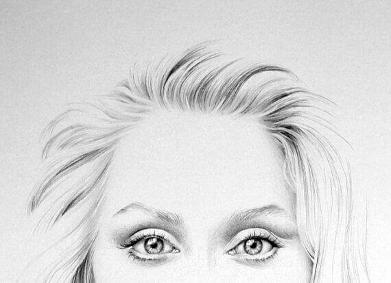 Rysunek Meryl Streep
