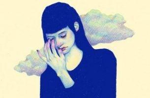 Kształtowanie samooceny - kobieta z niską samooceną