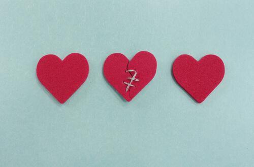 Trzy serca – jedno złamane