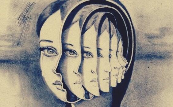 Głos w twojej głowie - dziewczyna o wielu twarzach.