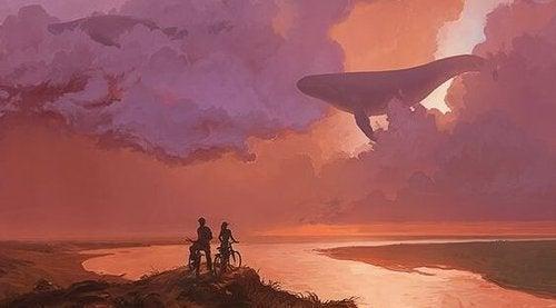 Wieloryb na niebie - mierzyć wysoko