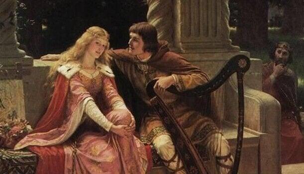 Karol Wielki z żoną