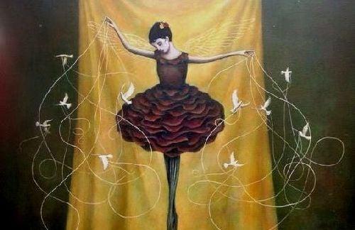 Cierpliwość - kobieta i balet