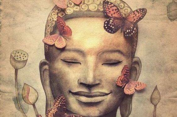 Budda i motyle.