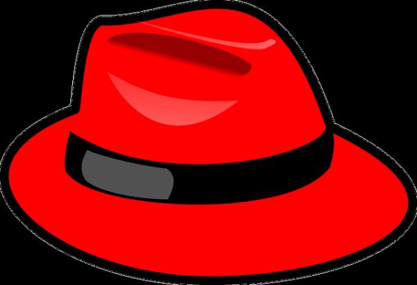 Czerwony kapelusz.