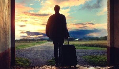 Człowiek - samotne podróżowanie