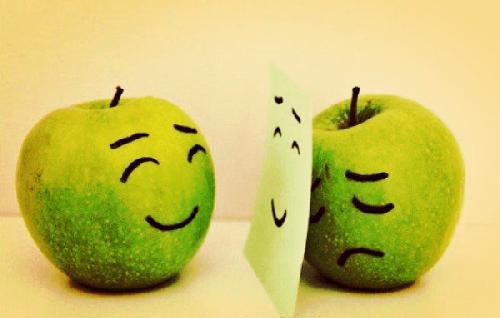 Efekt Hawthorne - udające jabłko
