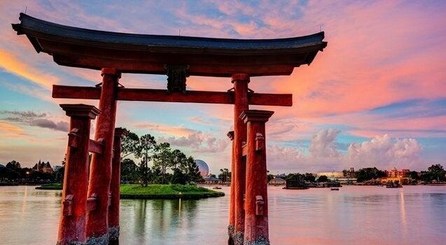 japoński krajobraz
