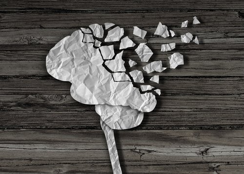 Uszkodzenie mózgu.