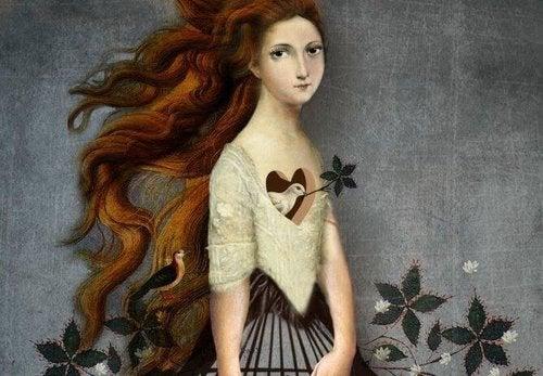 Kobieta serce - kochanie siebie
