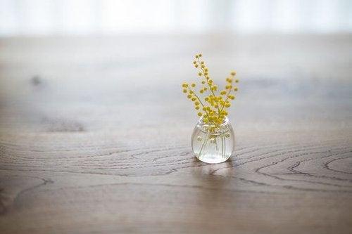 Kwiatki na stole
