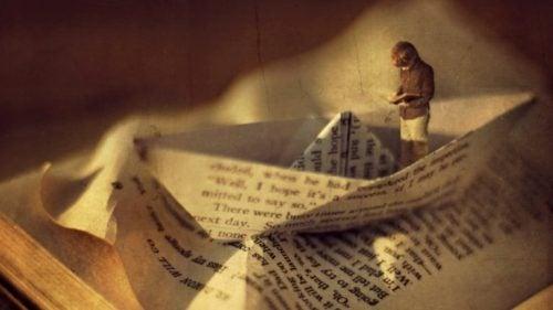 Łódka z papieru