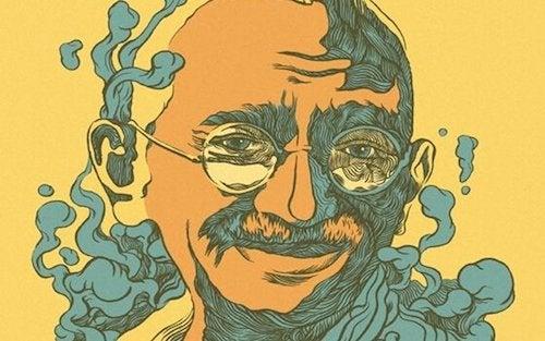 Mahatma Gandhi i cytaty pełne mądrości