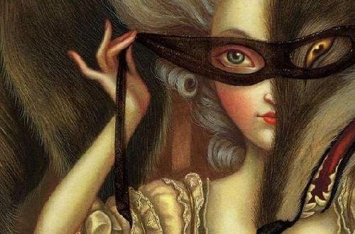 Manipulacja - maska na twarzy