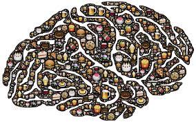 mózg stworzony z jedzenia