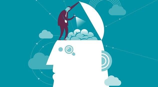 osoba eksperymentująca z mózgiem