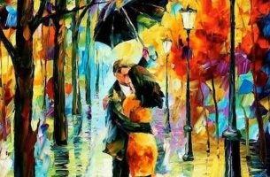 para pod parasolem - cytaty o miłości