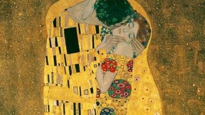 Pocałunek - obraz Klimta