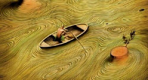 Problemy - ludzie na łódce