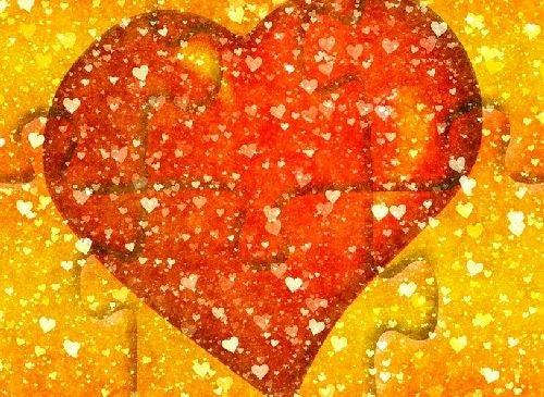 Puzzle z sercem