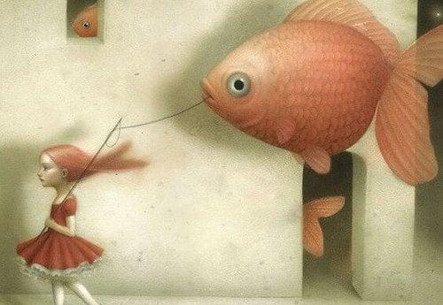 Ryba na haczyku