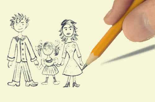 Test rysunku rodziny, ciekawa technika projekcyjna