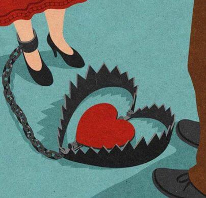 Serce we wnykach