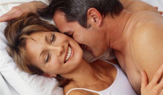 szczęśliwa, dojrzała para