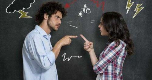 Kłótnia - oznaki manipulacji słownej